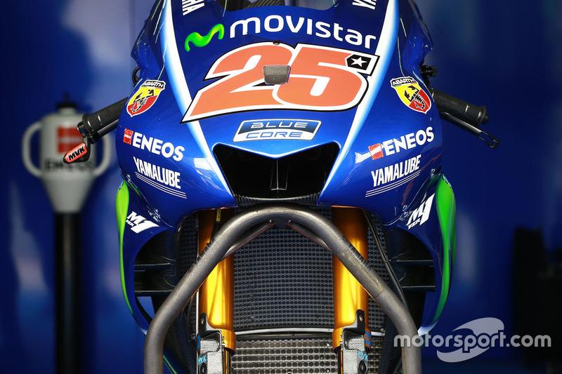 Yamaha verstopt de winglets
