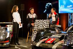 Sébastien Buemi, Toyota Racing; Neel Jani, Porsche Team