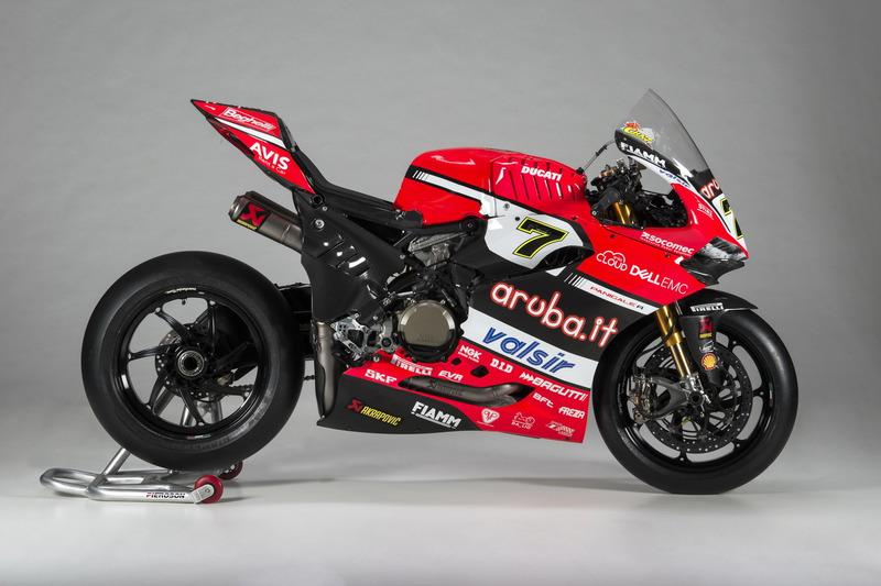 La moto de Chaz Davies