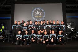 Gruppenfoto: Sky Racing Team VR46