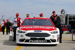 L'auto di Ryan Blaney, Wood Brothers Racing Ford
