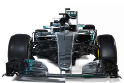 Mercedes AMG F1 W08 Hybrid launch