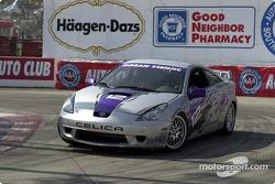 Celebrity race practice: Goran Visnjic