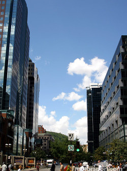 McGill College and Ste. Catherine Street