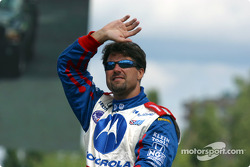 Drivers' parade: Michael Andretti