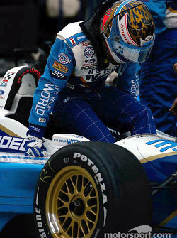 End of the day for Alex Tagliani