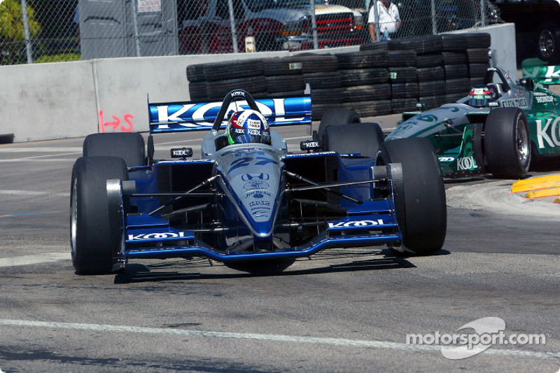 Dario Franchitti et Paul Tracy
