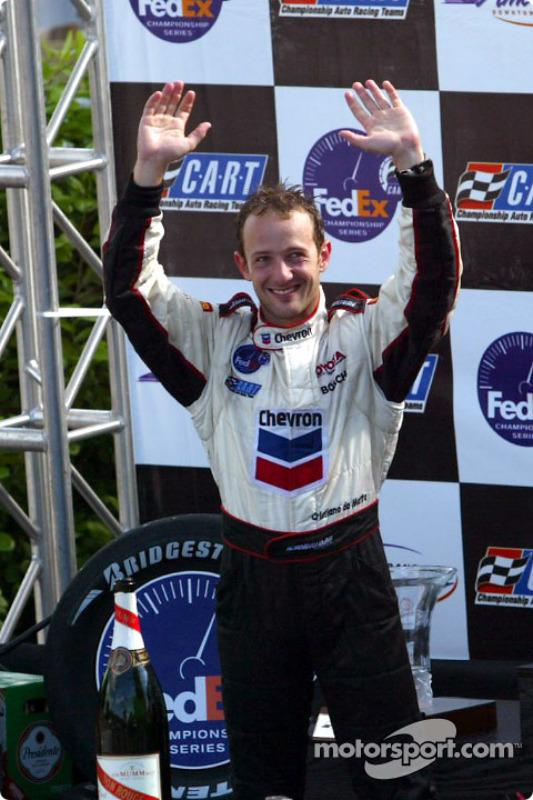 Race winner and 2002 CART Champion Cristiano da Matta