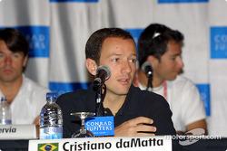 Press conference: Cristiano da Matta