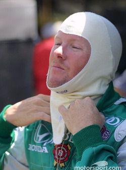 Paul Tracy gets ready