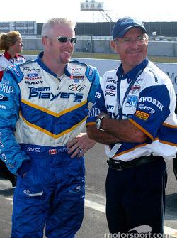 Paul Tracy and technical advisor Tony Cicale