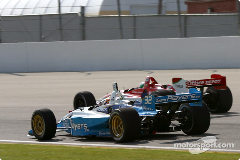 Patrick Carpentier et Michel Jourdain Jr.