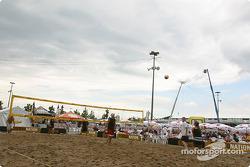 Beach Volley on Thunder Alley