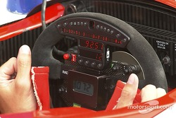 Steering wheel of Sébastien Bourdais