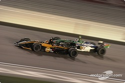 Oriol Servia and Ryan Hunter-Reay
