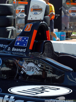 Aussie David Besnard trys his hand at Champ Cars