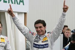 Poleposition for Bruno Spengler, Team HWA AMG Mercedes, AMG Mercedes C-Klasse