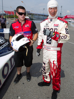 IndyCar two-seater experience: Ontario Minister of Tourism and Culture Michael Chan