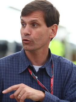 Tavo Hellmund, promoter of the United States Grand Prix