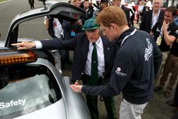 Sir Jackie Stewart y Prince Harry