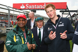 Tony Fernandes, Team Lotus, Team Principal with Prince Harry