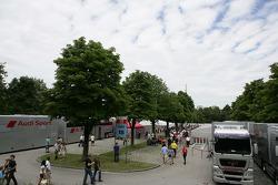DTM Paddock at the Olympiapark