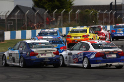 Mehdi Bennani BMW 320 TC, Proteam Racing and Kristian Poulsen BMW 320 TC, Liqui Moly Team Engstler