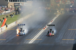 David Grubnic, Rocky boots/Candlewood Suites Dragster, Brandon Bernstein, Copart Dragster