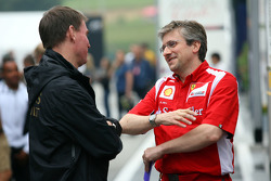 Director técnico Pat Fry Ferrari, Ingeniero, Alan Permaine y Lotus Renault GP
