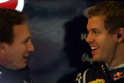 Christian Horner, Red Bull Racing, Direktör, Sebastian Vettel, Red Bull Racing