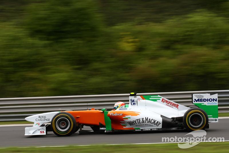 Paul di Resta, Force India F1 Team, VJM04