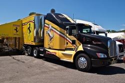 Long Island Ferrari transporter