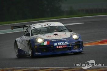 AutOrlando Sportsche 997 GT3 R: Paolo Ruberti, Gianluca Roda, Raffaele Giammaria
