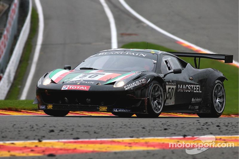 #50 AF Corse Ferrari 458 Italia: Jack Gerber, Matt Griffin, Nikki Cadei, Marco Cioci