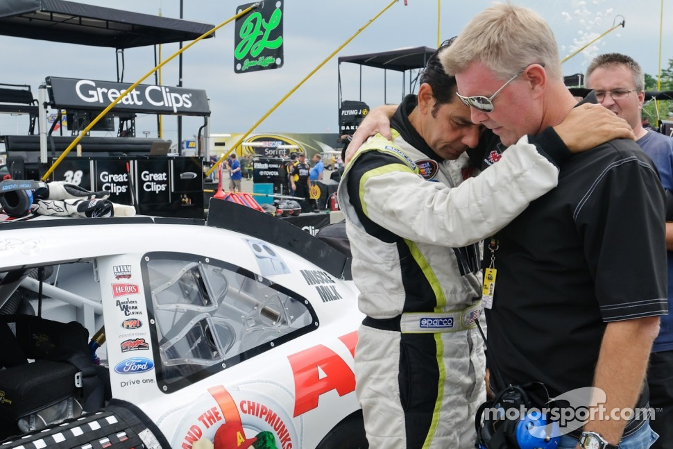 Tomy Drissi with car owner Rick Ware