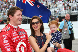 Scott Dixon, Target Chip Ganassi Racing with his family