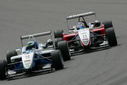 Roberto Merhi, Prema Powerteam, Dallara F308 Mercedes, Jimmy Eriksson, Motopark, Dallara F308 Volkswagen