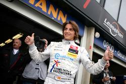 Pole winner Roberto Merhi, Prema Powerteam, Dallara F308 Mercedes