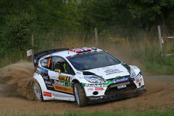 Mads Ostberg y Jonas Andersson, Ford Fiesta RS WRC, M-Sport Stobart Ford World Rally Team