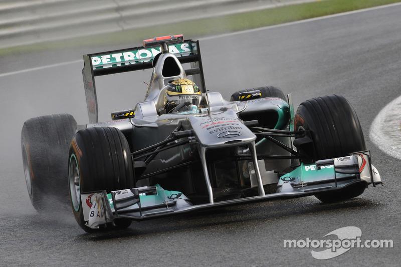 2011 Spa-Francorchamps: Mercedes