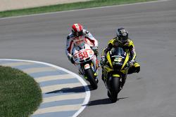 Colin Edwards, Monster Yamaha Tech 3 and Marco Simoncelli, San Carlo Honda Gresini