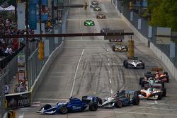 Start: Oriol Servia, Newman/Haas Racing