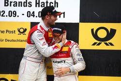 Martin Tomczyk, Audi Sport Team Phoenix and Edoardo Mortara, Audi Sport Team Rosberg