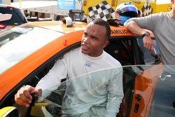 Volkswagen Scirocco R-Cup: l'ospite Nicolas Hamilton