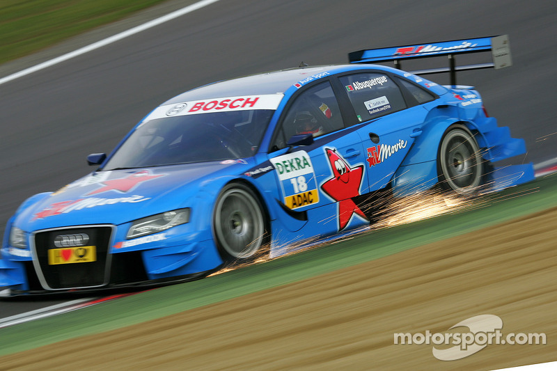 DTM, Brands Hatch 2011: Filipe Albuquerque, Rosberg, Audi A4