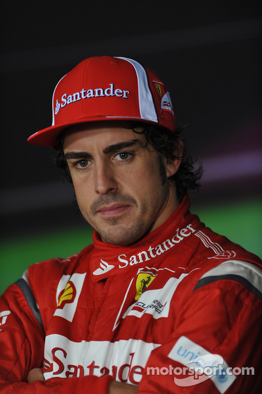 Press conference: third place Fernando Alonso, Scuderia Ferrari