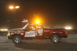 Pace truck during a yellow flag period