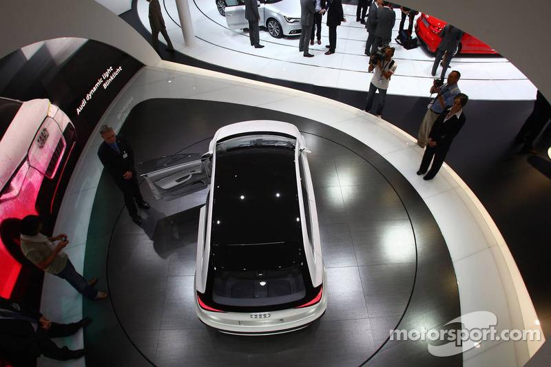 Audi A2 Concept At Frankfurt Motorshow