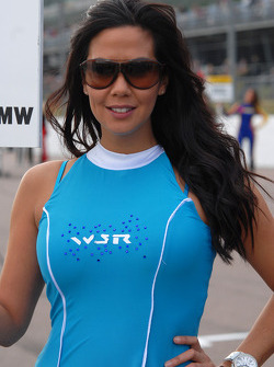 WSR grid girl