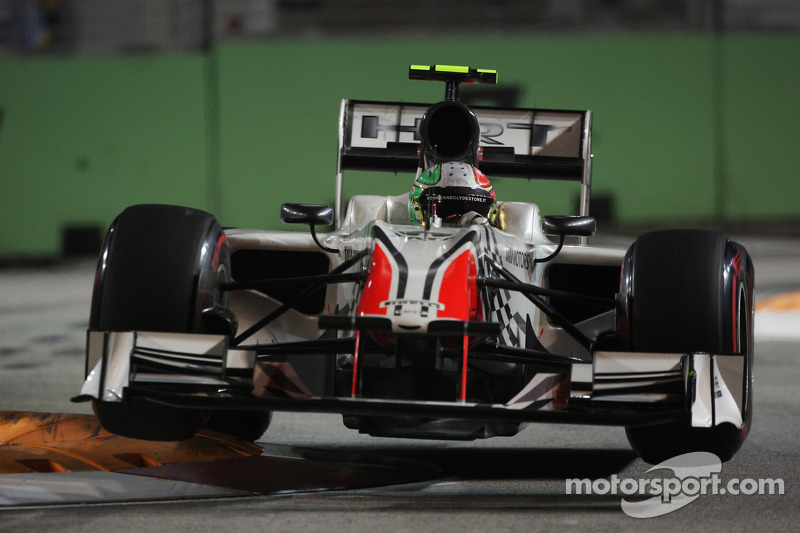 Vitantonio Liuzzi, HRT F1 Team